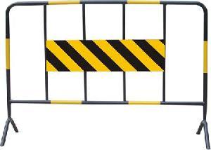 portable steel traffic barriers
