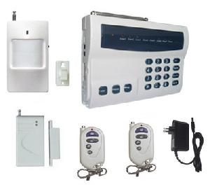 intruder auto dial telephone alarm system