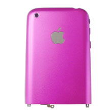 apple iphone 2g battery pink backing cover