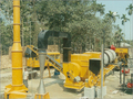mobile road construction machinery