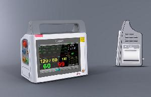 bedside patient monitor vital sing