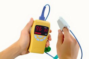 jerry ii aa pulse oximeter