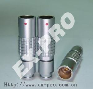 circular electronic connector mini manufacturing shenzhen supplier lemo
