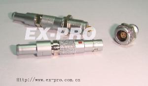 metal connector lemo b k s push pullself locking circular electronic waterproof interchang