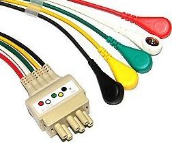 10 ecg cable ronseda electronics