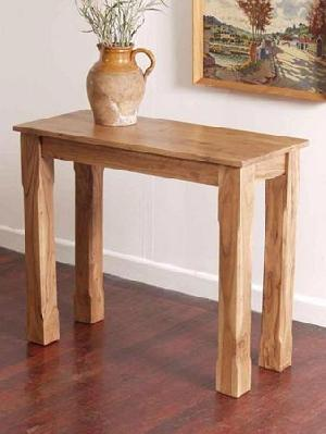 hardwood console table manufacturer exporter wholesaler india