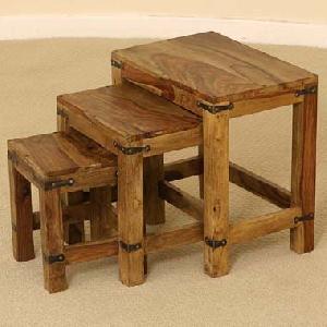 hardwood nest table manufacturer exporter wholesaler india