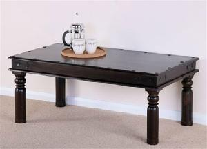 hardwood thakat coffee table solid legs manufacturer exporter wholesaler india