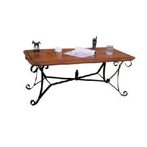knock wrought iron coffee table manufacturer exporter wholesaler india
