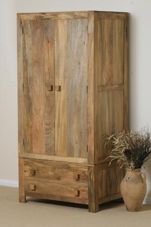 mango wood wardrobe manufacturer exporter wholesaler india
