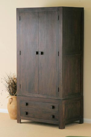 rosewood 2 door drawer cabinet manufacturer exporter wholesaler india