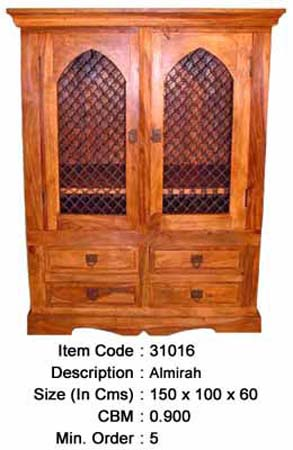 rosewood indian almirah cabinet manufacturer exporter wholesaler india