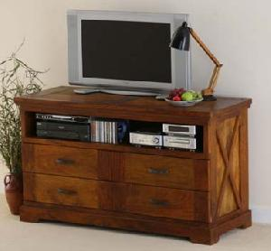rosewood tv cabinet corner audio video manufacturer exporter wholesaler india