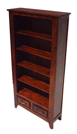 sheesham wood bookcase manufacturer exporter wholesaler india