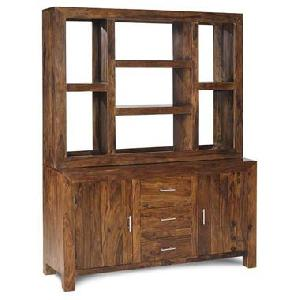 sheesham wood buffet hutch manufacturer exporter wholesaler india