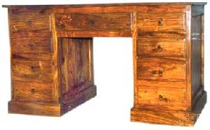 sheesham wood computer table manufacturer exporter wholesaler india
