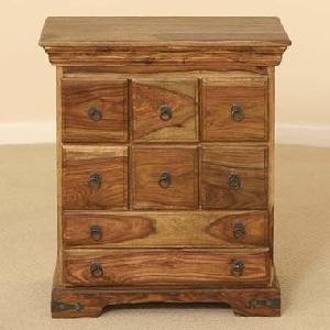 sheesham wood drawer chest manufacturer exporter wholesaler india