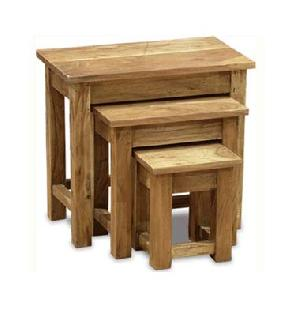 sheesham wood nest table manufacturer exporter wholesaler india