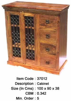 sheesham wood storage cabinet manufacturer exporter wholesaler india