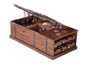 sheesham wood wine cabinet box manufacturer exporter wholesaler india