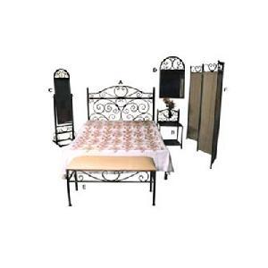 wrought iron bedroom furniture manufacturer exporter wholesaler india