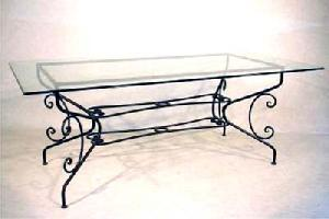 wrought iron coffee table manufacturer exporter wholesaler india