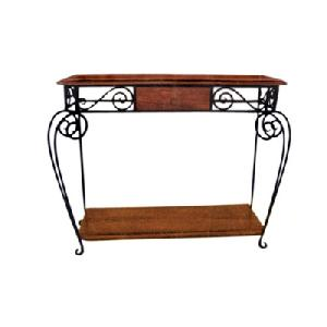 wrought iron console table manufacturer exporter wholesaler india