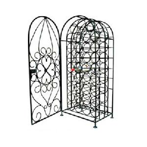 Wrought Iron Wine Cabinet Rack Manufacturer Exporter And Wholer India