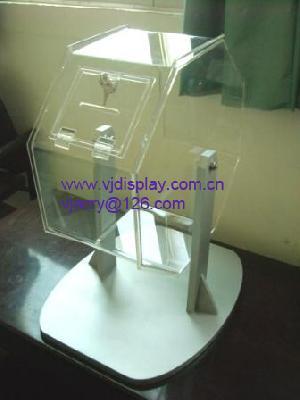 spinning reffle drum acrylic