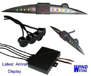 led display parking sensor reversing system bibi sound warning rd 068c4