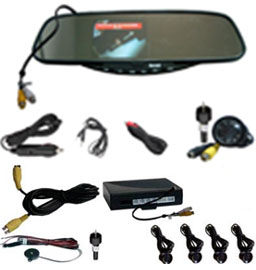 ultrasound sensors wireless parking sensor reverse camera system wrd 728sc4