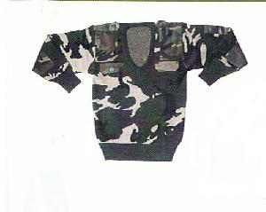 camouflage pullover sweater jersey