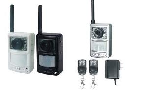 mms gsm gprs alarm system camera home residential