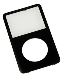 ipod front cover panel silver