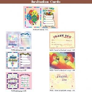invitation cards envelops