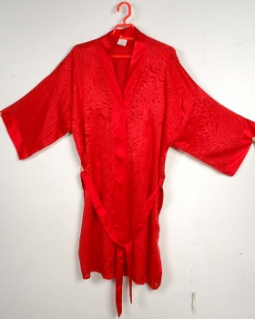 ladies nightwear polyester dressing gown