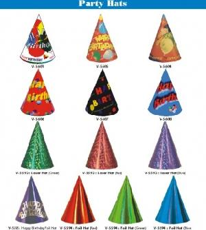party paper hats