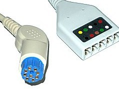 s w artema 5 ld ecg trunk cable