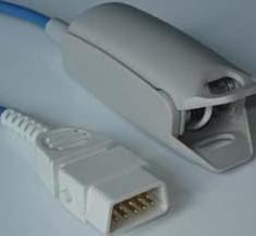 bci db9p finger clip spo2 sensor adult reusable