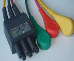 cl 3601 3 leads ecg cables colin 88 306 88s patient