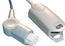 datex adult finger clip spo2 sensor