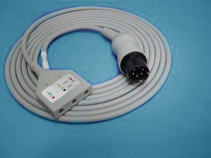 din 3 ecg cable