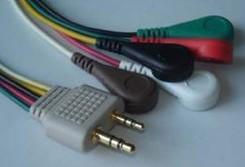 holter ecg cable 5 leads leadwires beijin meigaoyi system ecglab tda 3 0