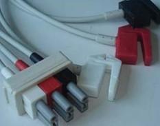 m1603a ecg cable 3 leads clip hp 78352c m1205a patient monitors