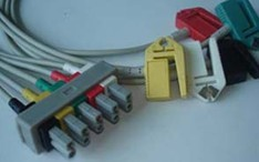 m1623a 5 leads ecg cable clip ronseda