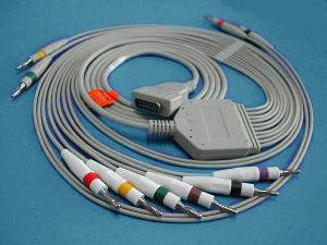 mac1200 12 ecg cable leadwire