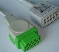 marqutte dash2000 dash3000 ecg cable 5 leads