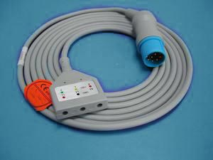 mennen din 3 ecg cable leadwires