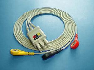 nec 3 ecg cable leadwire