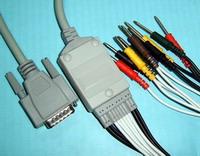 nihon kohden ekg 10 cable leadwires